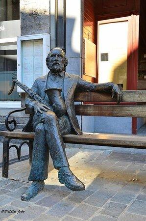 Adolphe Sax Statue