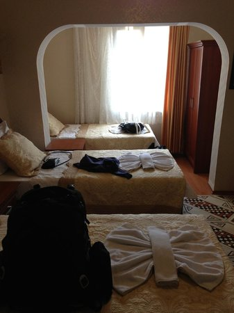 Big Apple Hostel & Hotel: Triplet room