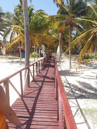 Bravo Caracol: Mi esposa regresando de la playa / 13 de marzo 2012.