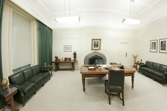 Diefenbaker Canada Centre: A replica of Diefenbaker's office as it was when he was Prime Minister from 1957-1963.