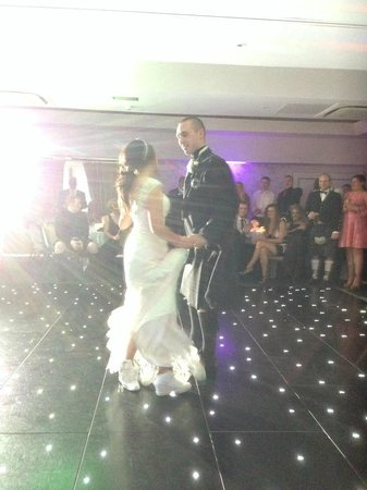 Best Western Buchanan Arms Hotel & Leisure Club : Large dancefloor in the function room
