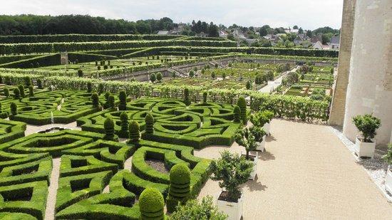 Château de Villandry : les jardins du chateau de Villandry
