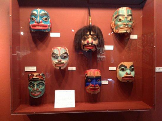 Totem Heritage Center: masks