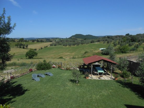 Agriturismo La Valle degli Ulivi: giardino dell'agriturismo