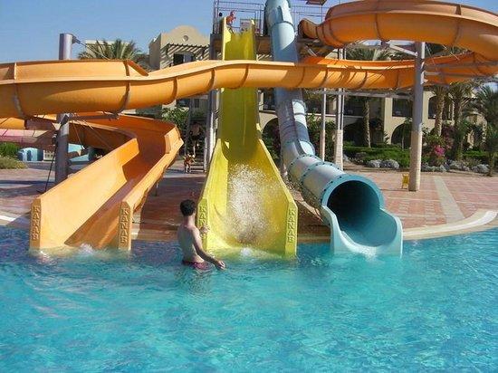 TUI MAGIC LIFE Kalawy: Водные горки на территории отеля