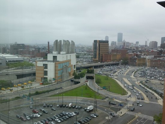 Seaport Boston Hotel : From Room 1812 looking toward Prudential Bldg area