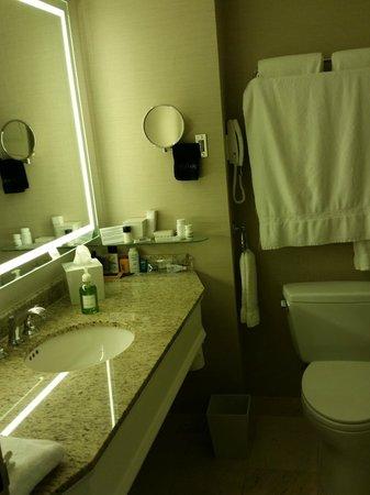 Seaport Boston Hotel: Bathroom vanity