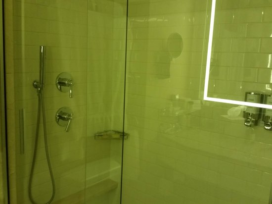 Seaport Boston Hotel: Great Shower, or as much as I could get in the photo