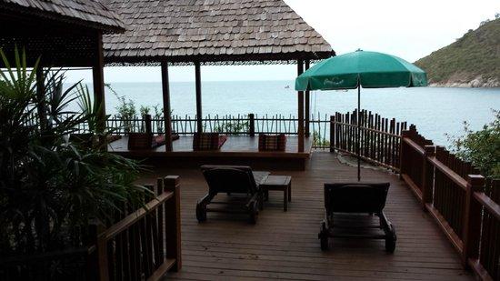 Panviman Resort - Koh Pha Ngan: Terras family cottage