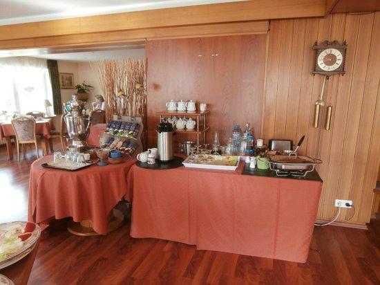 Hotel Landhaus Waldesruh: colazione