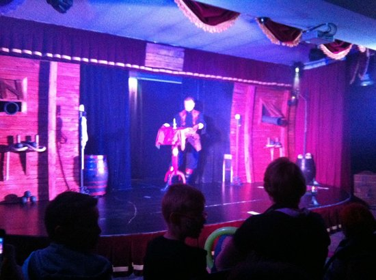 Hotel des Pirates : Spectacle