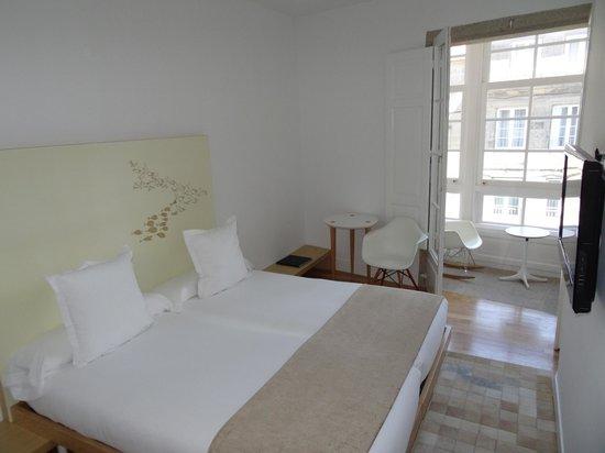 Hotel Pazo de Altamira : Habitación