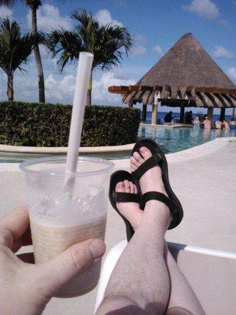 Grand Park Royal Cozumel : Relaxing in Cozumel