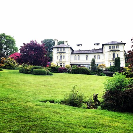 The Falcondale Hotel: A view from the gardens