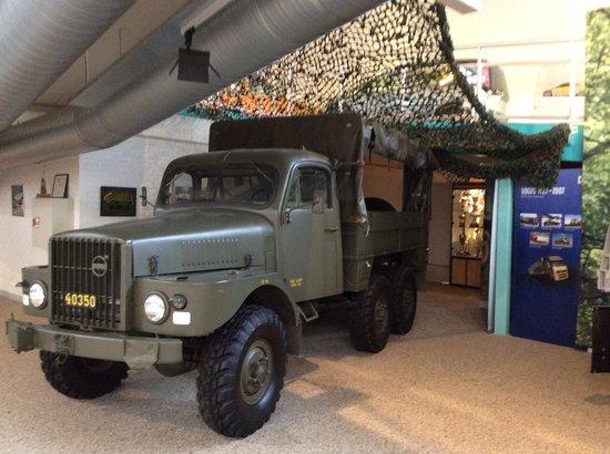 Volvo Museum: военный транспорт