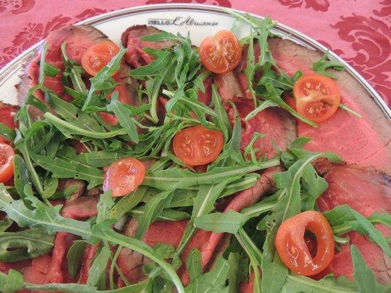 Roast beef picture of ristorante nello l 39 abruzzese rome for Abruzzese cuisine