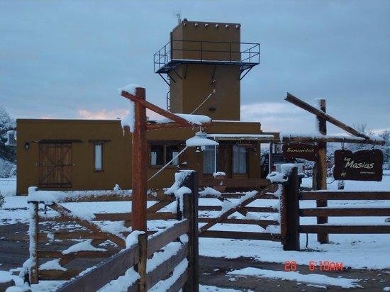 Las Masias Cabañas Premium: Con nieve !!!!!
