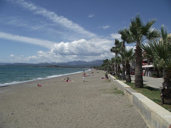 Kaan Hotel: Calis beach
