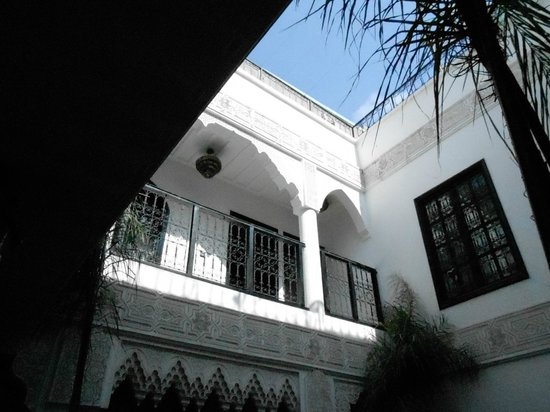 Riad Hannah City Hotel : camere sul patio