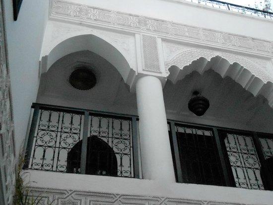 Riad Hannah City Hotel: camere sul patio