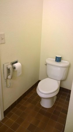 Comfort Inn Monterey Peninsula Airport : Toilet - why is there a phone next to it?