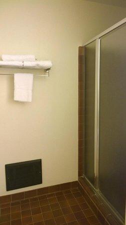 Comfort Inn Monterey Peninsula Airport: Shower, King Suite