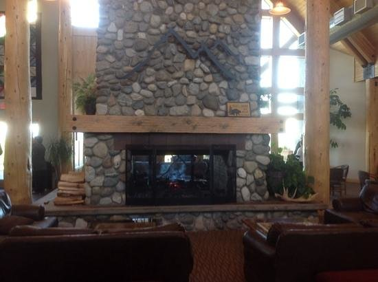 Talkeetna Alaskan Lodge: lobby of Talkeetna lodge
