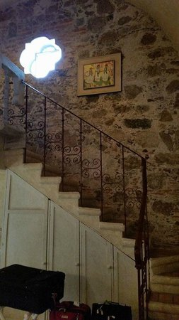 "Antigua Villa Santa Monica: Staircase to the loft in the room ""Don Agustin"""