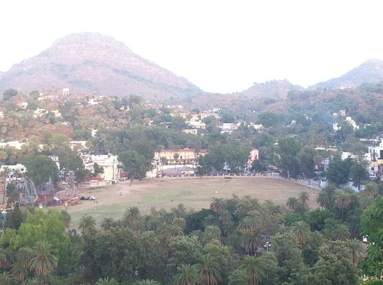The Jaipur House: view from the room