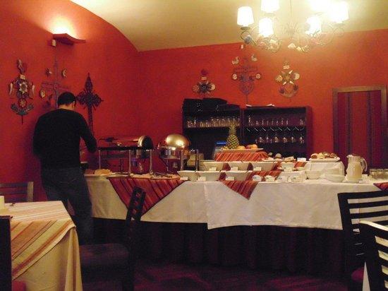 LP Los Portales Hotel Cusco: Restaurante Bufet