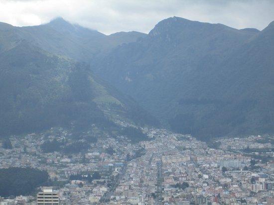 Hotel Quito: Vista desde la habitación