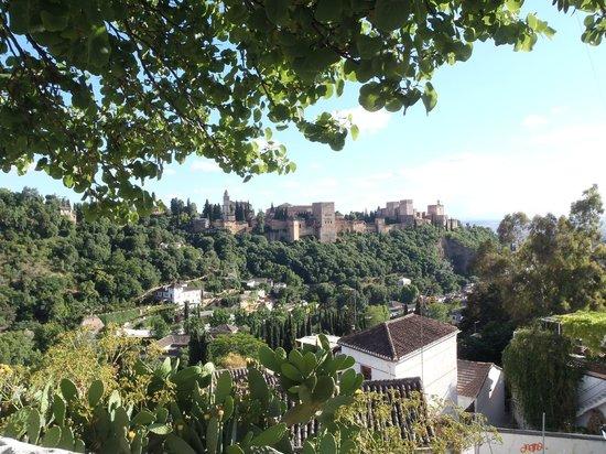 Play Granada : Alhambra vista da Sacromonte