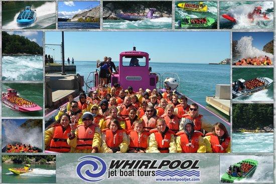 Whirlpool Jet Boat Tours: Group Photo - lotsa People