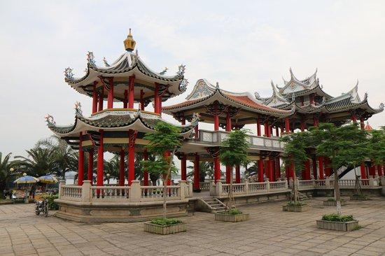 Xiamen Jimei Jiageng Park: Pavilions