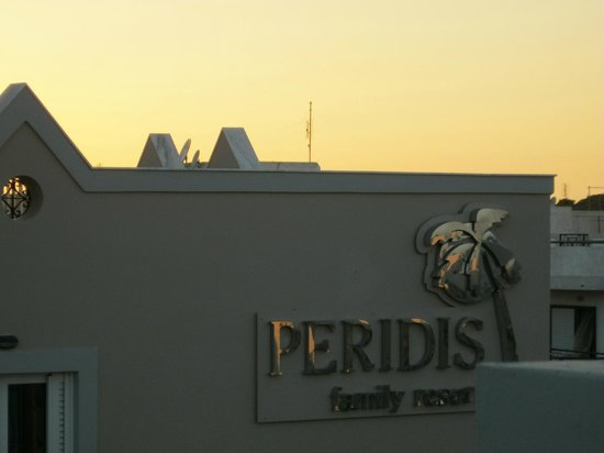 Peridis Family Resort: nice view from the top