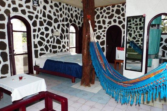 El Castillo Galapagos: Habitacion matrimonial
