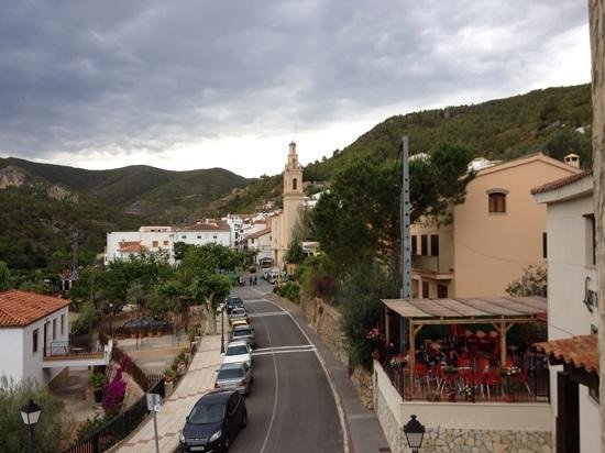 Hotel Rural Vinas Viejas: Room with a view
