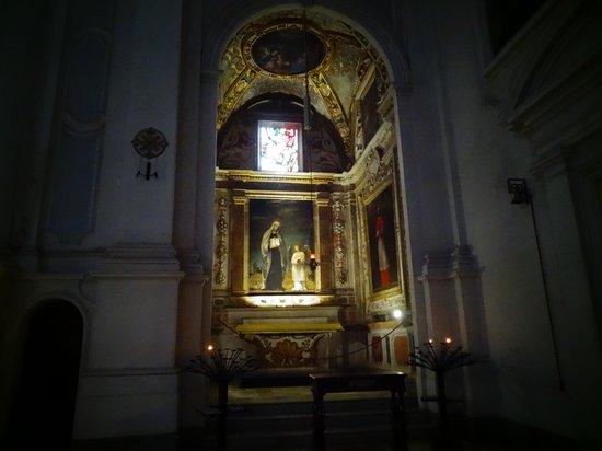 Abbazia di Monte Oliveto Maggiore la chiesa