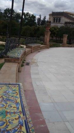Parc de María Luisa : Local muito gostoso