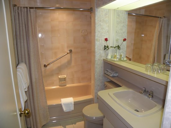 Royal Scot Hotel & Suites: 1 bed bathroom