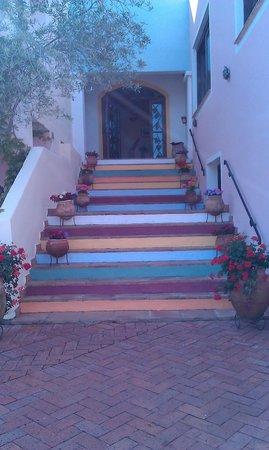Airone Hotel: stairs