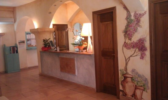 Airone Hotel: reception