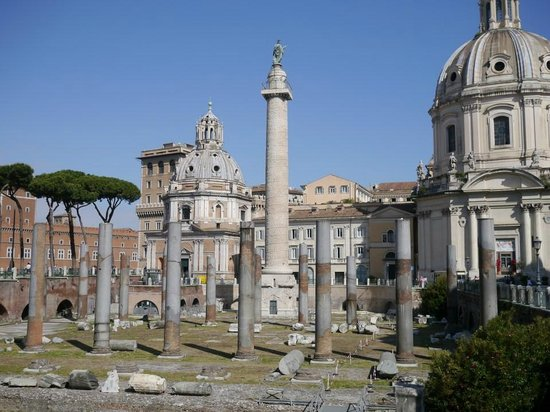 Driver Guide Service: Trajan forum and column