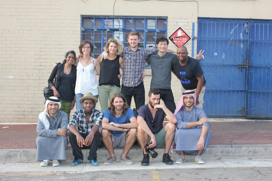 Curiocity Backpackers : Peeta Planet after exploring Johannesburg