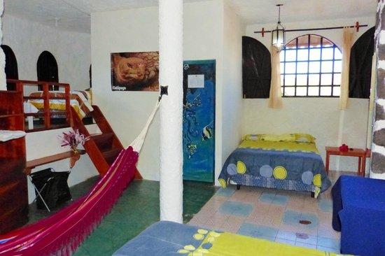El Castillo Galapagos: habitacion cuadruple