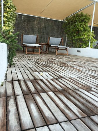 Piccolo Hotel del Lido: Upper Deck with blooming jasmine