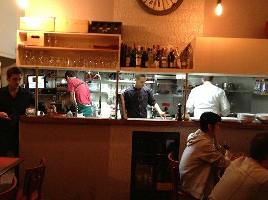 L'Ange 20 Restaurant : The kitchen