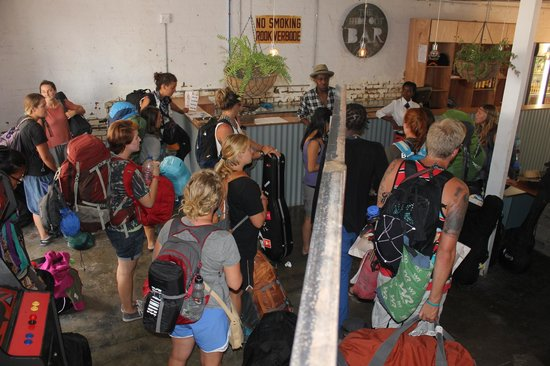 Curiocity Backpackers: World Race group