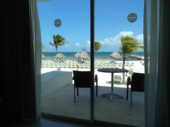BlueBay Grand Esmeralda : View from the Bed in room 5129