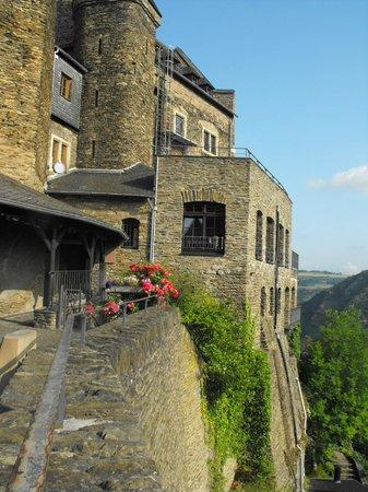 Burghotel Auf Schönburg: Терраса